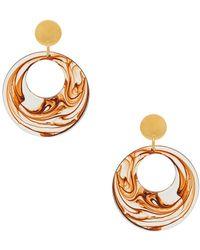 Amber Sceats - Matrix Earrings In Orange. - Lyst