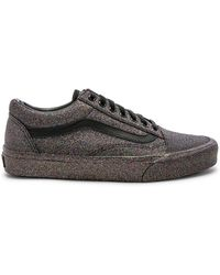 af0cc7be34d Lyst - Vans Rainbow Glitter Authentic Sneaker in Black - Save 20%