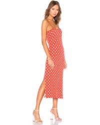 Callahan - Sadie Slip Dress In Red - Lyst