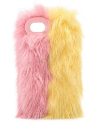 Charlotte Simone - Phone Fluff Faux Fur Iphone 7/8 Case - Lyst