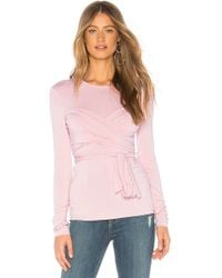 Bailey 44 - All Or Nothing Wrap Top In Pink - Lyst