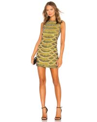 X By NBD - Monty Embellished Python Mini Dress - Lyst