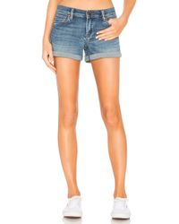 Blank NYC - The Fulton Denim Roll Up Short - Lyst