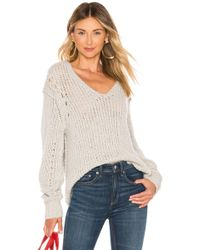 Rag & Bone - Arizona V Neck Sweater - Lyst