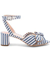 Loeffler Randall - Jill Knotted Block Heel With Ankle Strap - Lyst
