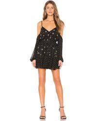 3832381502 Lyst - Blq Basiq Off The Shoulder Mini Dress in Black