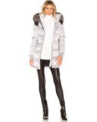 SOIA & KYO - Alenne Jacket With Fur Trim - Lyst