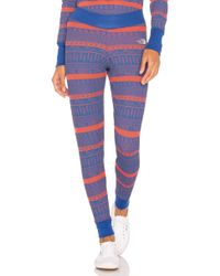 The North Face - Holiday Nordic Waffle Pant In Red - Lyst