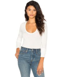 Free People - Easy Peasy Bodysuit - Lyst