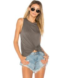 Enza Costa | Easy Baseball Tank | Lyst