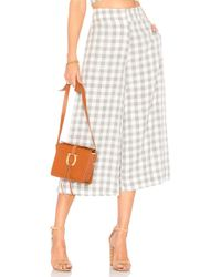 House of Harlow 1960 - X Revolve Gwen Culotte In Gray - Lyst