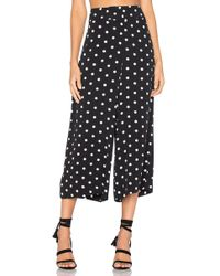 House of Harlow 1960 - X Revolve Gwen Culotte In Black - Lyst