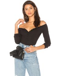 Lovers + Friends - X Revolve Atkins Bodysuit In Black - Lyst