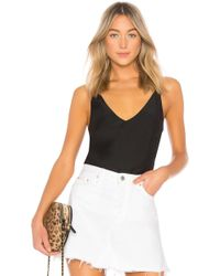 J Brand - Lucy Cami In Black - Lyst