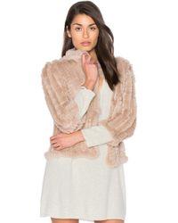 Heartloom - Rosa Rabbit Fur Jacket - Lyst