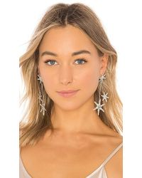 Jennifer Behr - Borealis Earrings In Metallic Silver. - Lyst
