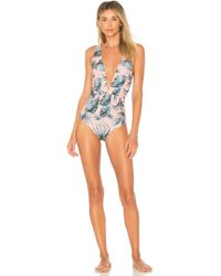 Tori Praver Swimwear - Andie One Piece In Pink - Lyst