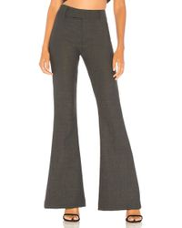 Smythe - Bootcut Pant In Charcoal - Lyst