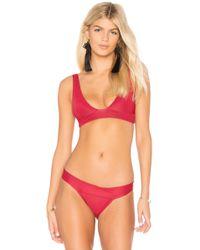 Haight - V Bikini Top - Lyst