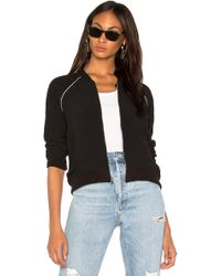 Monrow - Cropped Bomber - Lyst