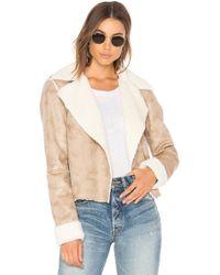 Splendid - Delancey Faux Fur Jacket - Lyst