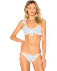 Jonathan Simkhai - Crochet Bikini Top - Lyst