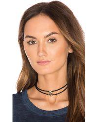 Melanie Auld - Double Braided Choker - Lyst