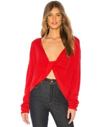 Lovers + Friends - Spring Sweater In Red - Lyst