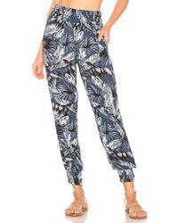 Mikoh Swimwear - Kahuku Pant In Blue - Lyst