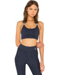 Maaji - Deep Blue Lagoon Reversible Sports Bra - Lyst