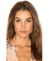 Five And Two - Skylar Marquis Stone Choker - Lyst