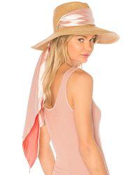 Eugenia Kim - Cassidy Hat In Tan. - Lyst