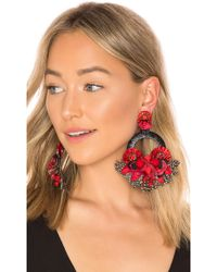 Ranjana Khan - Ipanema Earring In Red. - Lyst