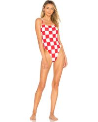 Solid & Striped - X Re/done The Malibu One Piece - Lyst