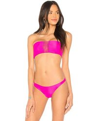 Mikoh Swimwear - Sunset Bikini Top In Fuchsia - Lyst