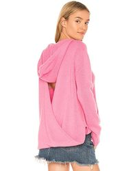 360cashmere - Bow Hoodie In Pink - Lyst