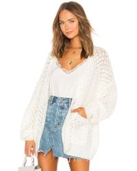 Mes Demoiselles - Snow White Knitted Cardigan - Lyst