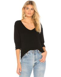 Monrow - Supersoft Pullover In Black - Lyst