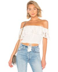 House of Harlow 1960 - X Revolve Emilie Top In White - Lyst