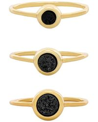 Gorjana - Astoria Ring Set - Lyst