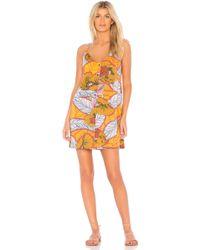 Maaji - X Revolve Melon Blossom Mini Dress In Orange - Lyst