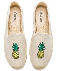 Soludos - Pineapple Smoking Slipper - Lyst