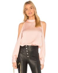 1.STATE - Cold Shoulder Blouse - Lyst