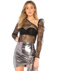 Lioness - X We Wore What Downtown Sheer Top - Lyst