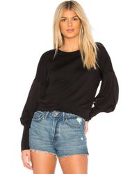 Bailey 44 - Siberian Superluxe Fleece Sweatshirt In Black - Lyst