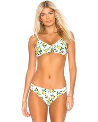 Nanette Lepore - Enchantress Bikini Top In White - Lyst