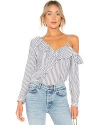Cupcakes And Cashmere - Jessilyn Top In Blue - Lyst