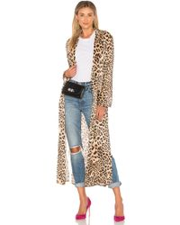 House of Harlow 1960 - X Revolve Perry Faux Fur Coat - Lyst