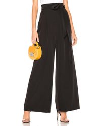MILLY - Natalie Pant In Black - Lyst