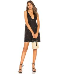 Free People - Crushin On You Embellished Dress In Black - Lyst
